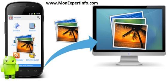 Comment transférer des vidéos et des photos vers son ordinateur PC ?