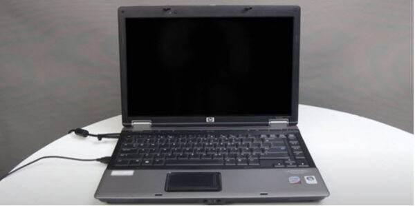 Ecran noir portable PC 1