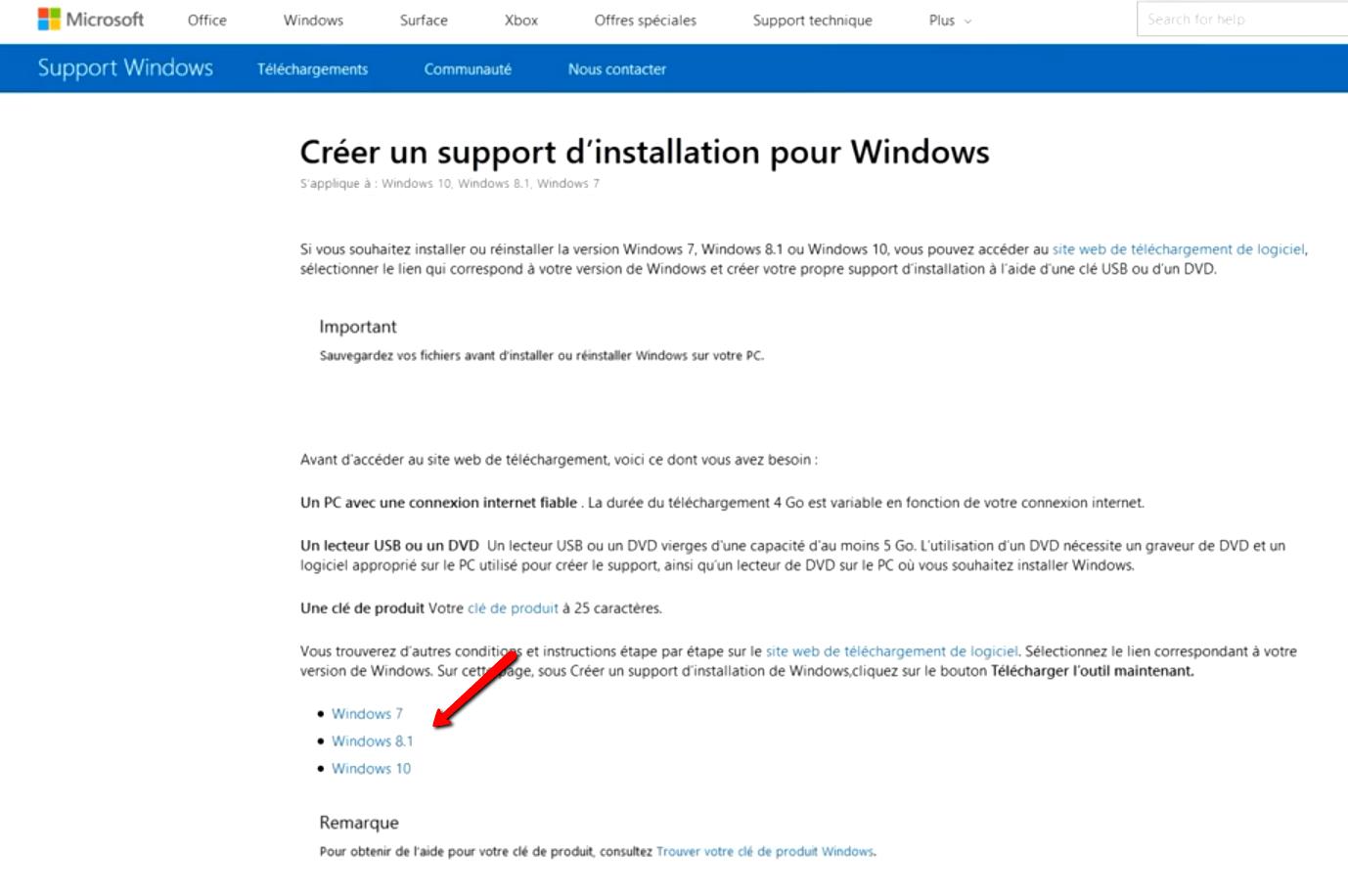windows 10 telechargement