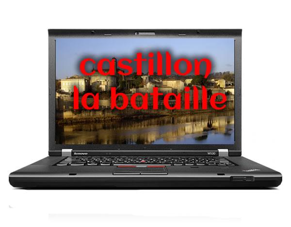 Dépannage informatique à Castillon-la-Bataille