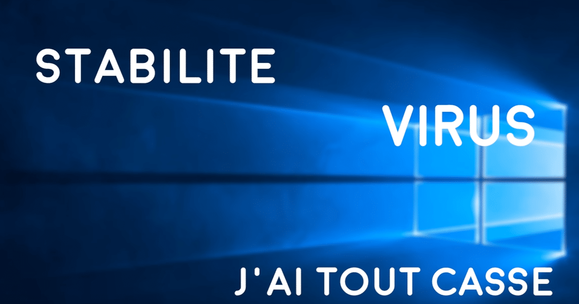 réinitialisation Windows 10