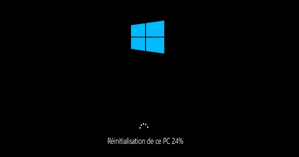 Redémarrage de Windows 10