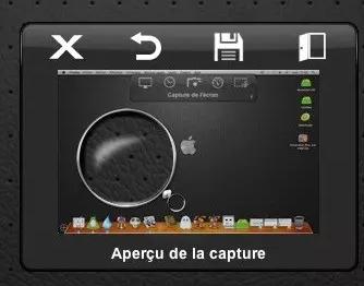 Impression écran de l'application screenshotplus