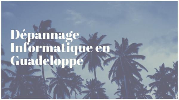Société de dépannage informatique en Guadeloupe