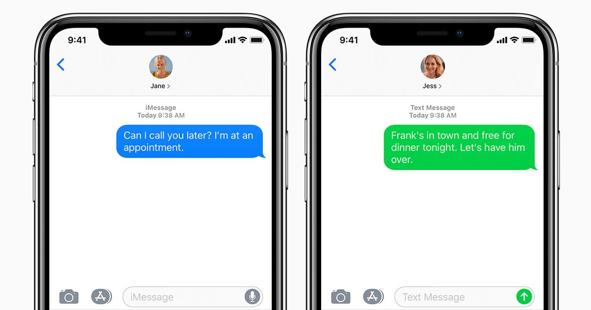 Comment utiliser iMessage sur un téléphone Android