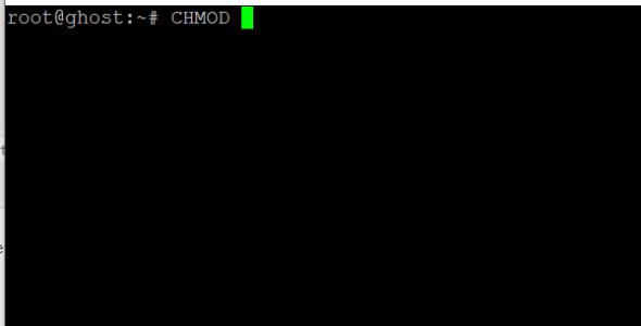 Apprendre la commande CHMOD