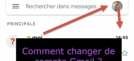 Comment permuter entre différents comptes Gmail sur un iPhone un iPad ou un Android ?
