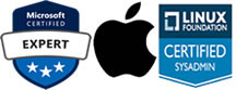certifier Microsoft / Apple