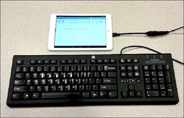 Comment connecter un clavier de bureau à un appareil Android