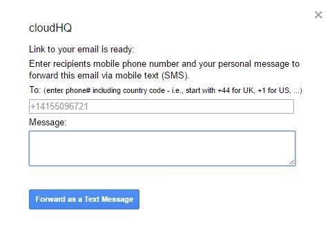 votre email en sms