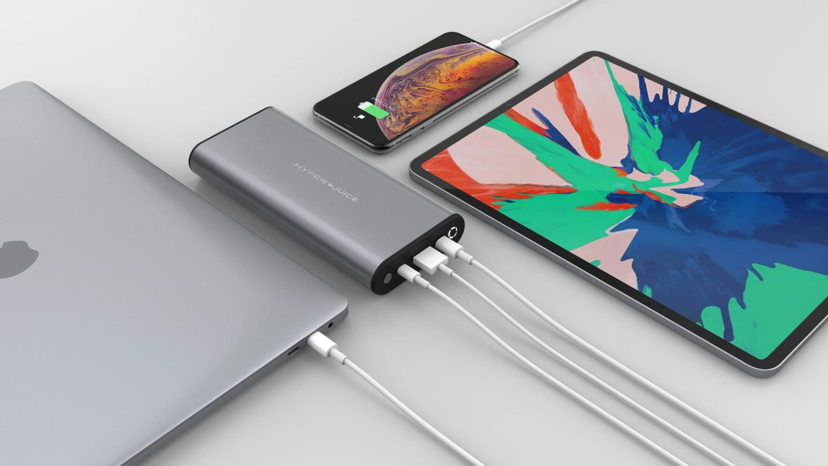 Batterie HyperJuice 130W USB-C pour MacBook