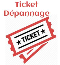 TICKET DÉPANNAGE INFORMATIQUE