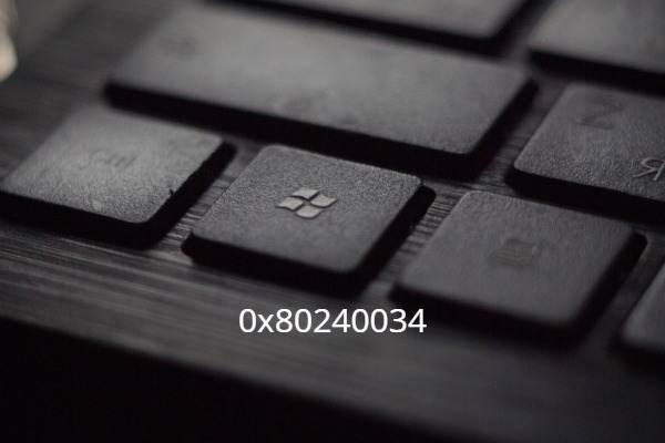 Comment réparer l'erreur 0x80240034 dans Windows 10