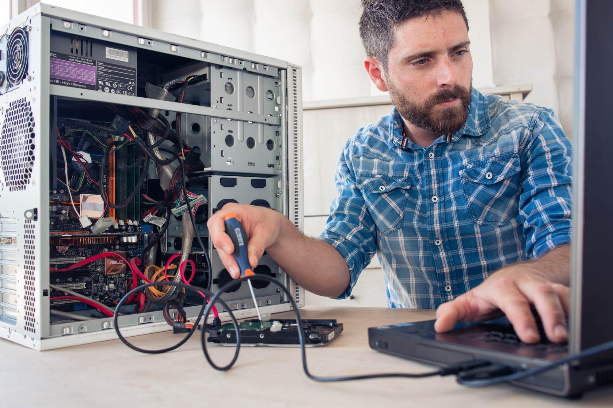 technicien informatique niveau 1 2 3