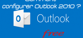 Comment  configurer Outlook 2010 avec free  ?