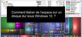Comment gagner de l'espace disque dans Windows 10 ?