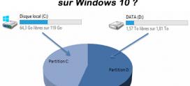 Comment Créer une partition  sur Windows 10 ?