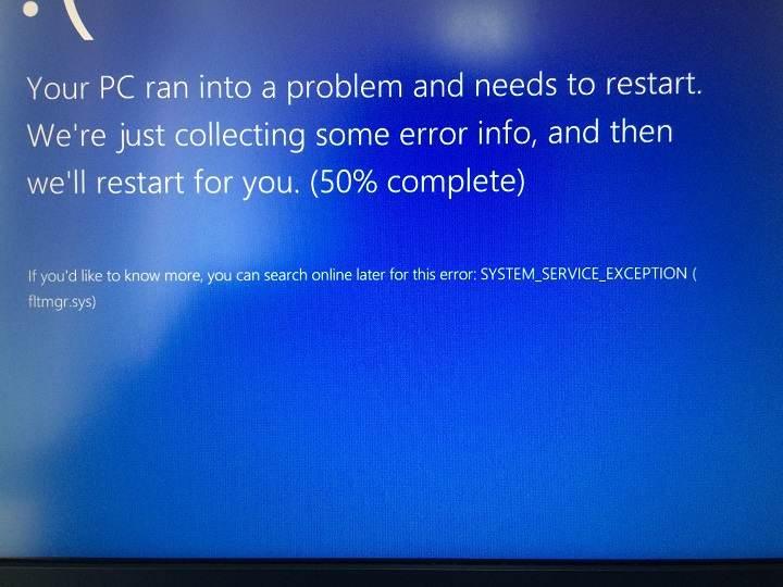 Fltrmgr Fix Error Screen Error – Comment réparer les erreurs d'écran bleu FltrMgr
