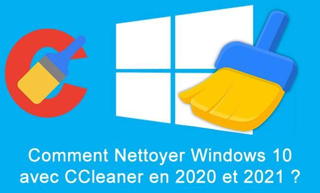 Comment nettoyer l'ordinateur en 2020 – 2021 comme un professionnel?