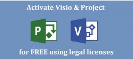 Comment installer et utiliser Project / Visio (2016/2019) sans clé de produit
