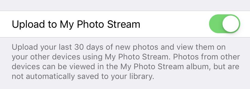 Télécharger sur mon écran de flux de photos