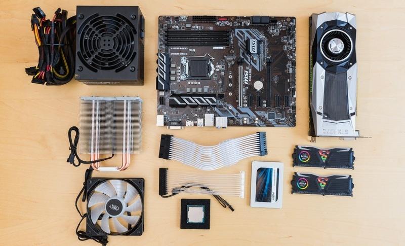 Les composants d'ordinateur