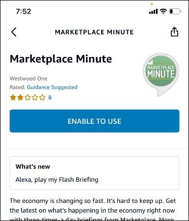 écran minute du marché