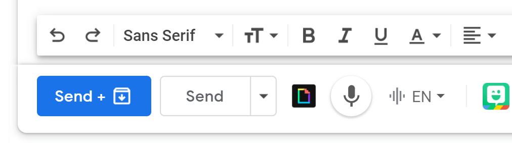 Envoyer + Archiver