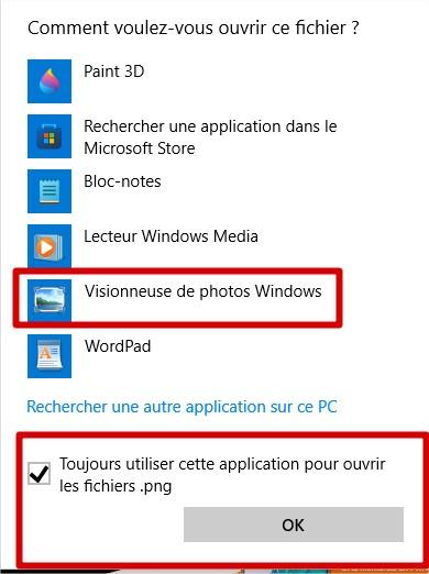 Visionneuse de photos Windows par défaut dans Windows 11