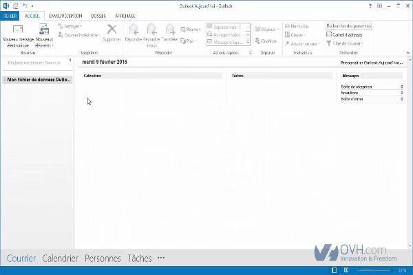 configurer une adresse e-mail sur outlook 2013.